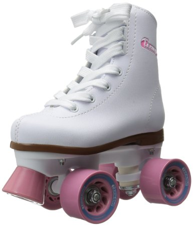 Chicago Girls Rink Roller Skate – White Youth Quad Skates