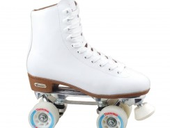 Chicago Women's Leather Lined Rink Skate, White
